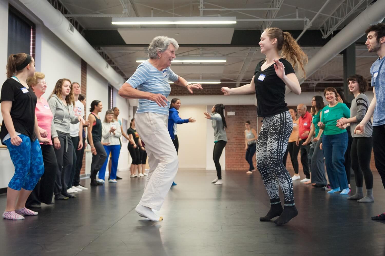 terapia de movimento de dança para pacientes com câncer