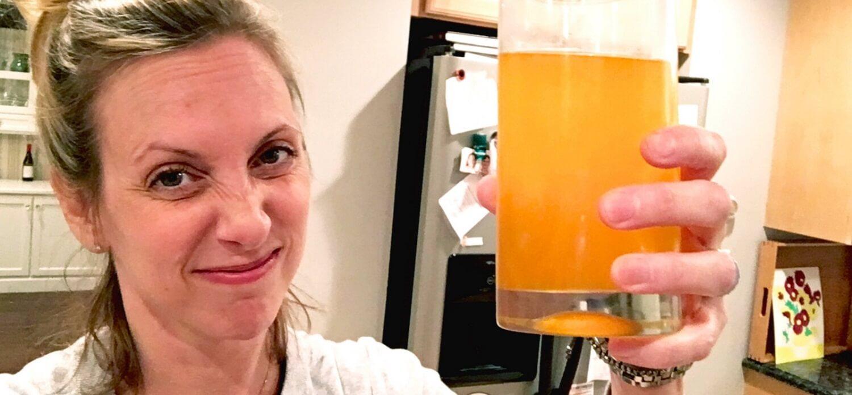 bebida oxo antes de uma colonoscopia