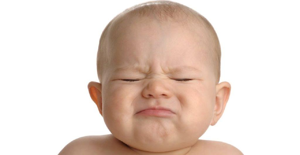 constipação em bebês
