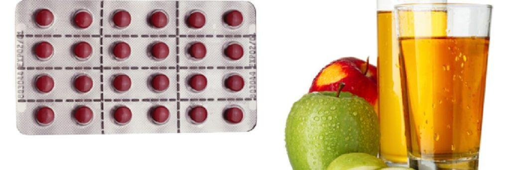 quão eficaz e seguro é o allegra quando tomado com sucos de frutas