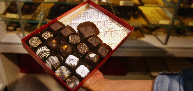 segredos de saúde de chocolates
