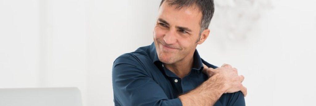 abscesso da articulação do ombro