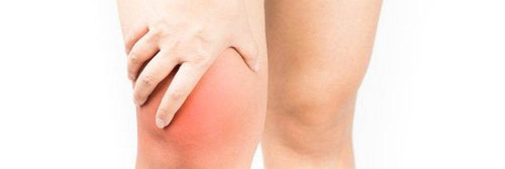 água no joelho ou derrame no joelho