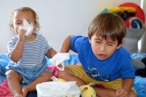 Como se livrar do nariz entupido do bebê