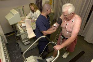 Como você se prepara para um ecocardiograma?