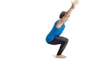 Druta Utkatasana ou a postura da energia dinâmica