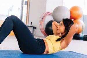 Exercício, mas não perder peso