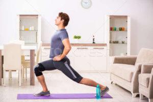 Home remédios e exercícios para a entorse do joelho