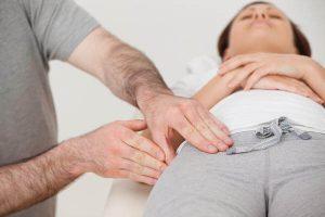 O que é obstruído hérnia inguinal