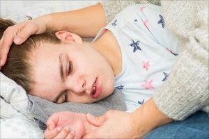 O que fazer se uma criança está tendo uma convulsão?