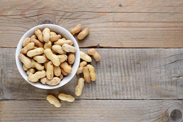 Os amendoins causam gás?