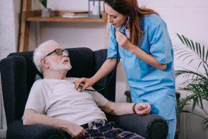 Quais são os estágios finais da insuficiência cardíaca congestiva?