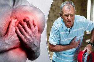 Quais são os sinais de um ataque cardíaco maciço?