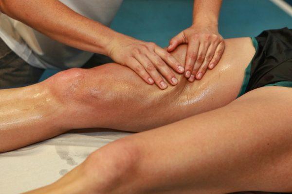 Técnicas de massagem na virilha
