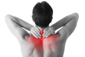 Tensão muscular do levantador da escápula