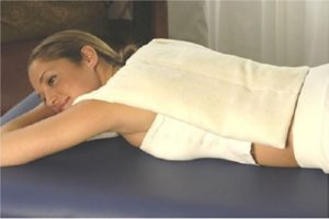 Usando a almofada de aquecimento durante a gravidez