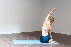 Yoga para espinha