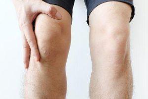 abscesso da articulação do joelho
