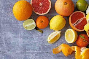 benefícios de frutas cítricas