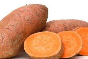 benefícios de saúde e medicinais de batata-doce ou ratali