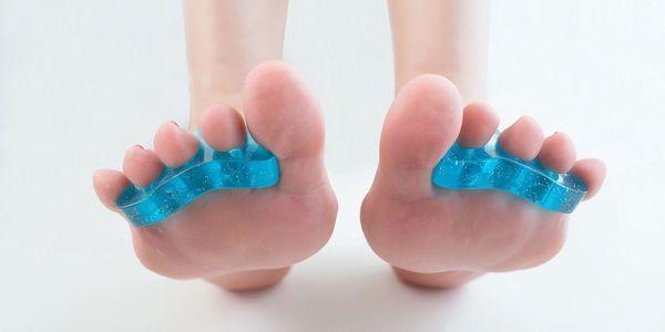 benefícios de usar separadores de dedos