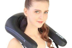 benefícios do shiatsu mais massageador de pescoço e ombro com calor