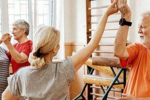 como a aeróbica pode ajudar os idosos