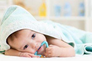 cuidado dos dentes para bebês