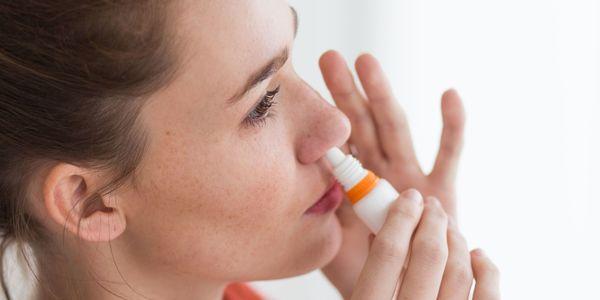 efeitos colaterais do spray nasal afrin no tratamento de alergias