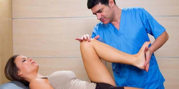 exercícios e reabilitação para luxação do joelho ou joelho deslocado