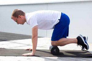 exercícios para tendinite patelar ou joelho saltador