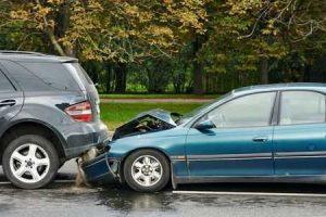 ferimentos de acidente automobilístico