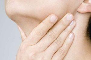 globus hystericus ou sensação de nódulo na garganta