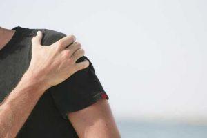 história de dor no ombro