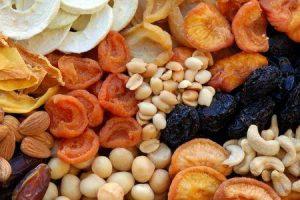 itens alimentares carregados com ferro