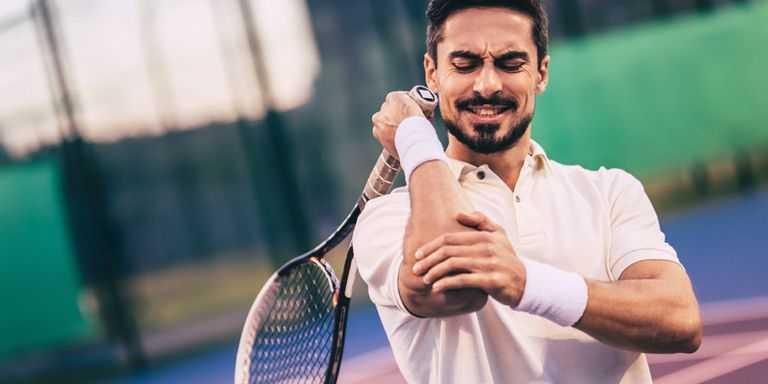 lesões nos braços em badminton