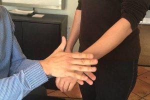 luxação da articulação do punho