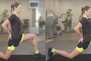 período de recuperação e yoga poses para tendinite patelar ou joelho jumpers
