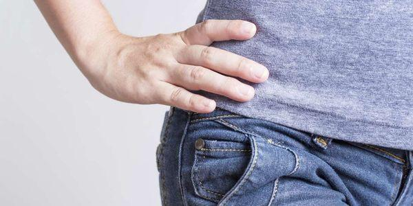 ponteiro de quadril ou vídeo de contusão de crista ilíaca causa exercícios de tratamento de sintomas