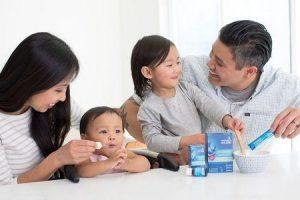 probióticos para crianças e bebês
