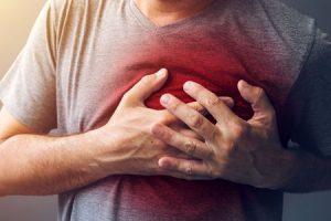 que porcentagem de bloqueio de uma artéria coronária é considerada perigosa