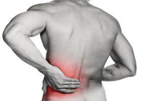 Costas parte superior espasmo das injeção para muscular na