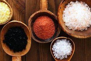 tipos de sal e como eles afetam sua saúde