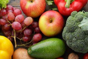 vegetais frutas grãos que são baixos em potássio