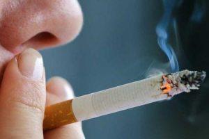 Fumar afetando sua pele