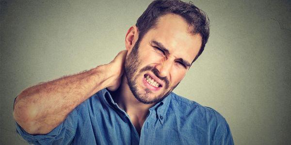 benefícios de incapacidade para dor de garganta ou distúrbios da coluna cervical