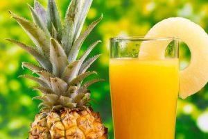 benefícios do suco de abacaxi para tosse
