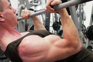 como construir bíceps sem pesos