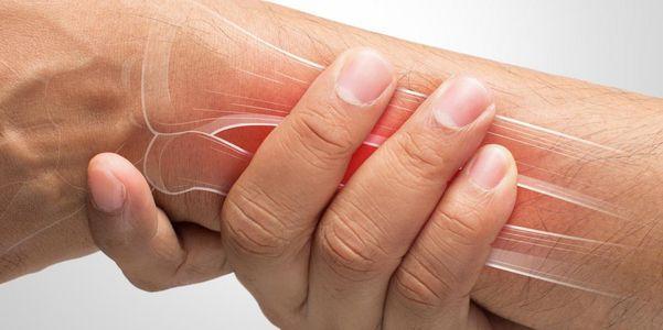 contusão de pulso ou pulso machucado