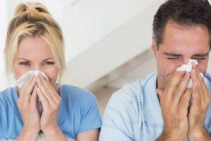 diferenças de frio vs alergias